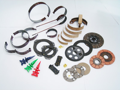 Brake Linings, Brake Shoes, Clutch Plates and Rock Guards